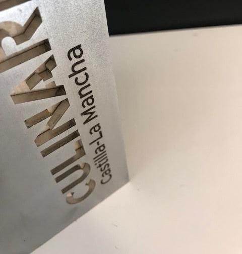premio culinaria castilla la mancha diseño