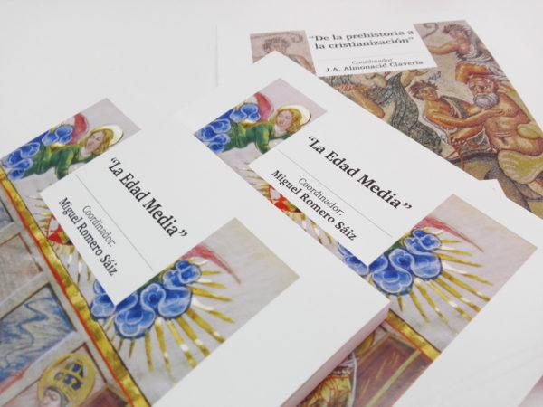 diseño editorial de colección historia