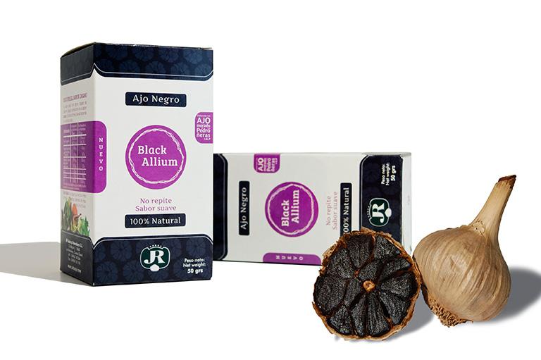 black allium con ajo negro