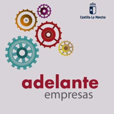 adelante empresas Cuenca JCCM digitalización, diseño de web, tienda online